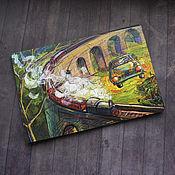 Открытки handmade. Livemaster - original item New! A set of Harry Potter postcards!. Handmade.