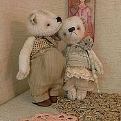 Куклы и игрушки ручной работы. Ярмарка Мастеров - ручная работа Мишка тедди Томас .. Handmade.