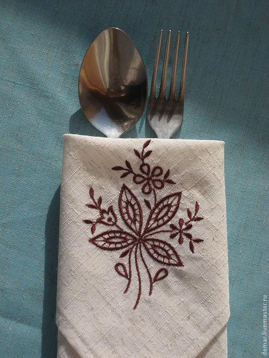 """Кухня ручной работы. Ярмарка Мастеров - ручная работа. Купить Салфетка """"Однацветик"""". Handmade. Салфетка, подарок на любой случай"""