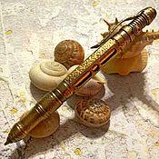 Аксессуары ручной работы. Ярмарка Мастеров - ручная работа Стимпанк ручка из бронзы (цена договорная). Handmade.