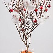 Цветы и флористика ручной работы. Ярмарка Мастеров - ручная работа Дерево ангелов. Handmade.