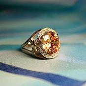 Украшения handmade. Livemaster - original item Ring Champagne. Handmade.