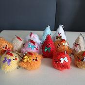 Куклы и игрушки ручной работы. Ярмарка Мастеров - ручная работа Вязаные цыплята (символ 2017 года). Handmade.