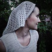 Аксессуары handmade. Livemaster - original item 100% linen scarf