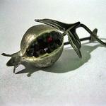 Серебряный гранат - Ярмарка Мастеров - ручная работа, handmade