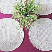 Для дома и интерьера handmade. Livemaster - original item Trapunto napkin. Handmade.