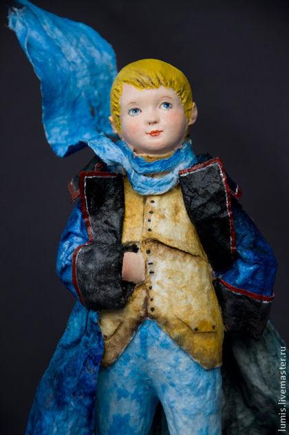 """Коллекционные куклы ручной работы. Ярмарка Мастеров - ручная работа. Купить Художественная кукла """"Совсем маленький принц"""". Handmade."""