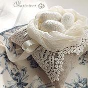 Свадебный салон ручной работы. Ярмарка Мастеров - ручная работа Веста.Комплект подушечка+подвязка. Handmade.
