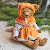 Куклы и игрушки ручной работы. Ярмарка Мастеров - ручная работа Мишка Аришка в костюме лисички. Handmade.