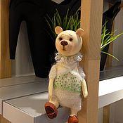 Куклы и игрушки handmade. Livemaster - original item Wooden doll - Infant-Teddy-bear/wooden handmade. Handmade.