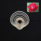 Материалы для творчества ручной работы. Ярмарка Мастеров - ручная работа Набор каттеров Лепестки Розы, пластик. Handmade.