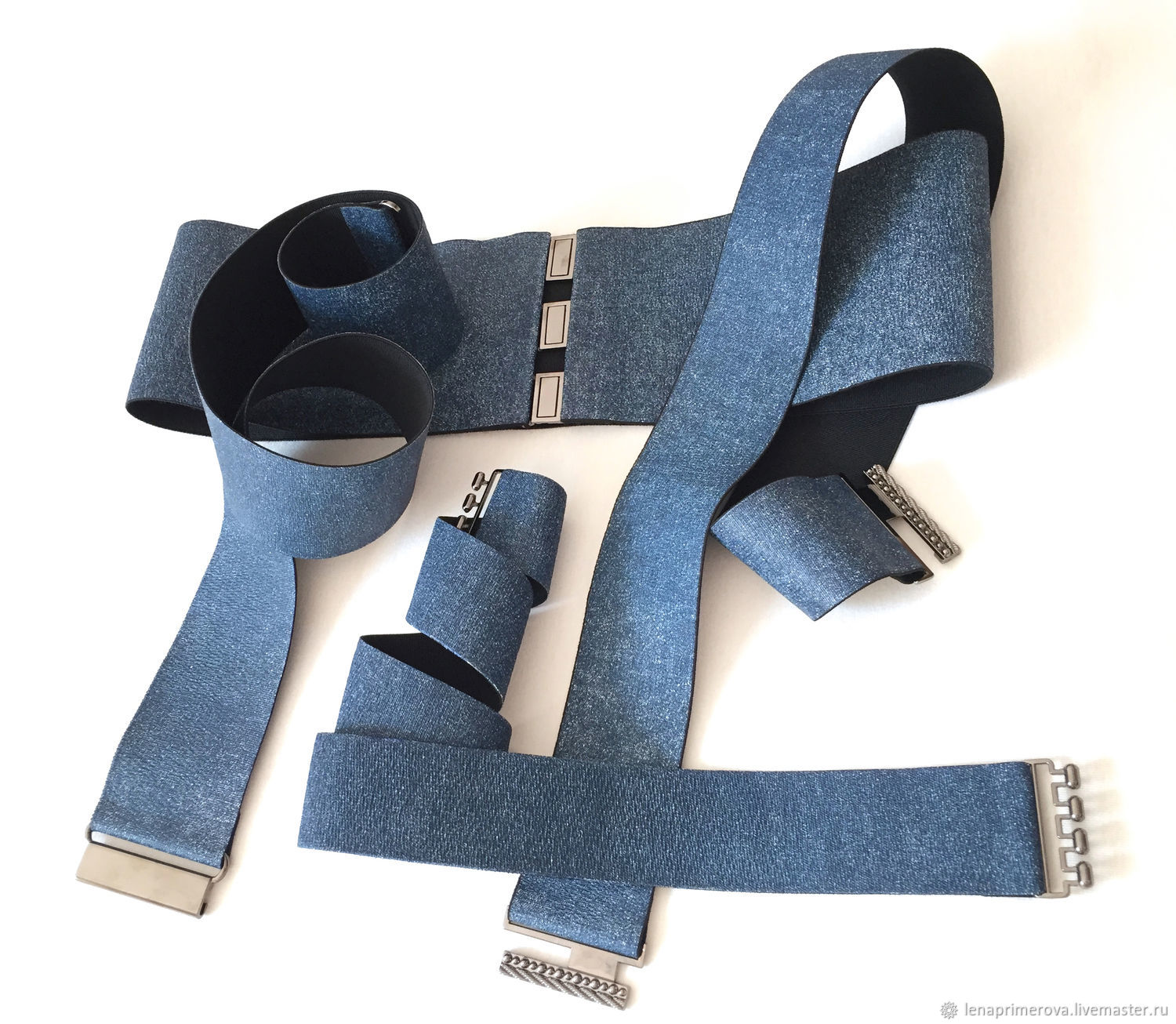 the belt-gum, jeans, the belt height 20mm - 1200 rubles, different prices, Belt, Moscow,  Фото №1