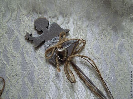 Другие виды рукоделия ручной работы. Ярмарка Мастеров - ручная работа. Купить Стикеры винтажные Ангел. Handmade. Декор для интерьера
