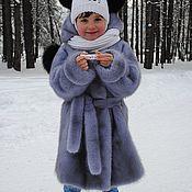 """Одежда ручной работы. Ярмарка Мастеров - ручная работа Шубка детская """"Ожидание первого снега"""". Handmade."""
