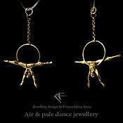 Украшения ручной работы. Ярмарка Мастеров - ручная работа Aerial hoop jewelry. Handmade.