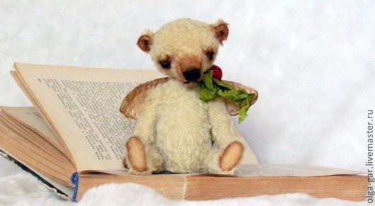 Мишки Тедди ручной работы. Ярмарка Мастеров - ручная работа. Купить Маленький ангелочек. Handmade. Золотой, подарок на любой случай