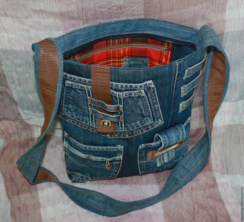 Пэчворк сумки джинсовые своими руками 11
