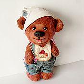 """Куклы и игрушки ручной работы. Ярмарка Мастеров - ручная работа Мишка -мальчик """"Ванятка"""". Handmade."""