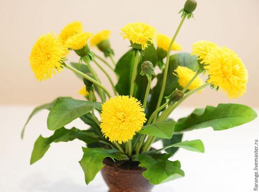 Цветы из полимерной глины Fleur