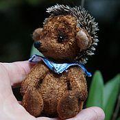 Куклы и игрушки ручной работы. Ярмарка Мастеров - ручная работа Ежонок тедди. Handmade.