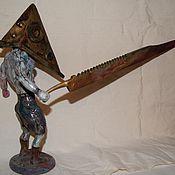Куклы и игрушки ручной работы. Ярмарка Мастеров - ручная работа Пирамидоголовый из Silent Hill. Handmade.