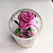 Сувениры и подарки handmade. Livemaster - original item Gifts on February 14: Rose in the flask. Handmade.