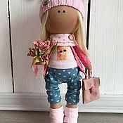 Куклы и игрушки ручной работы. Ярмарка Мастеров - ручная работа Интерьерная текстильная кукла Марта. Handmade.