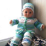 Работы для детей, handmade. Livemaster - original item Knitted set of clothes for discharge