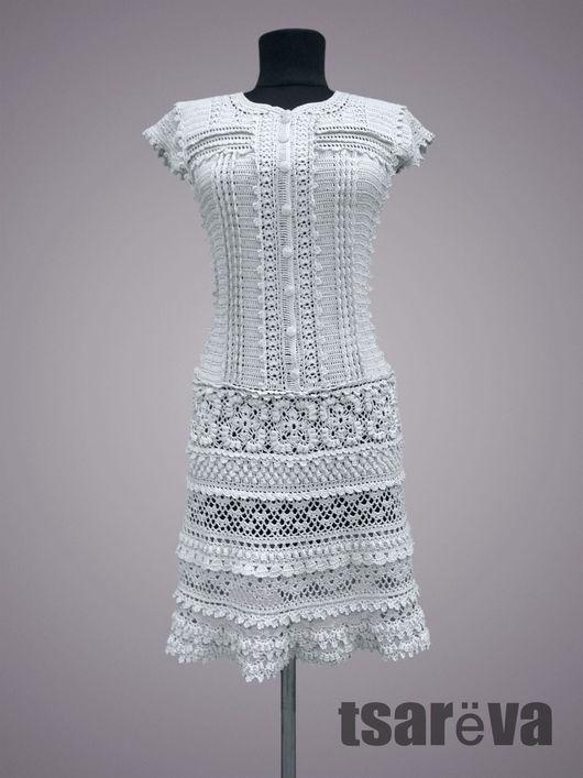 Платья ручной работы. Ярмарка Мастеров - ручная работа. Купить Лекси. Handmade. Серый, платье коктейльное