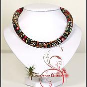 Necklace handmade. Livemaster - original item Harness choker