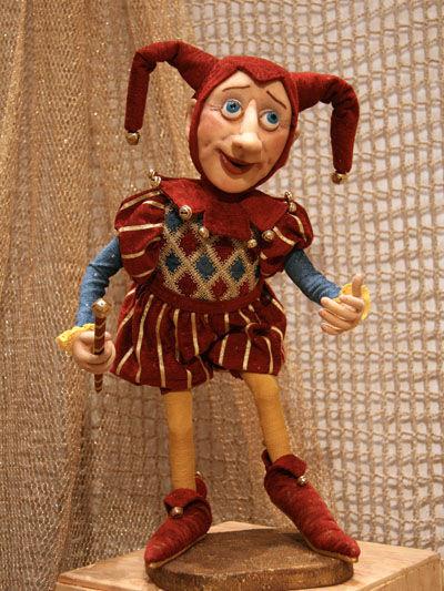 Коллекционные куклы ручной работы. Ярмарка Мастеров - ручная работа. Купить Кукла Шут. Handmade. Авторская кукла, шут