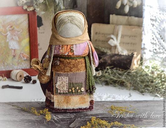 Народные куклы ручной работы. Ярмарка Мастеров - ручная работа. Купить кукла Ангел цветочной пыльцы.. Handmade. Оранжевый