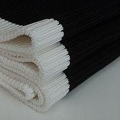Ткани ручной работы. Ярмарка Мастеров - ручная работа Трикотажный подвяз шерстяной. Handmade.