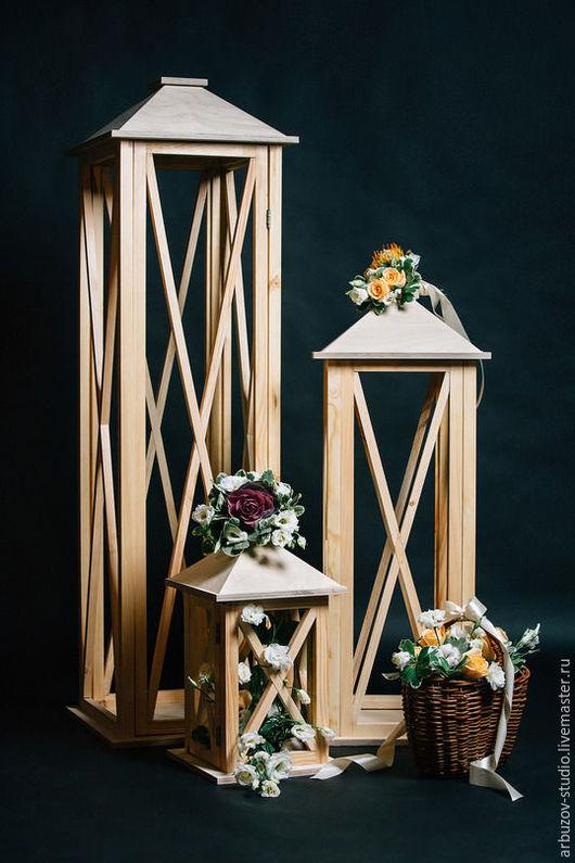 Подсвечники ручной работы. Ярмарка Мастеров - ручная работа. Купить Фонари из дерева. Handmade. Белый, фонарь, фонарик, фонари