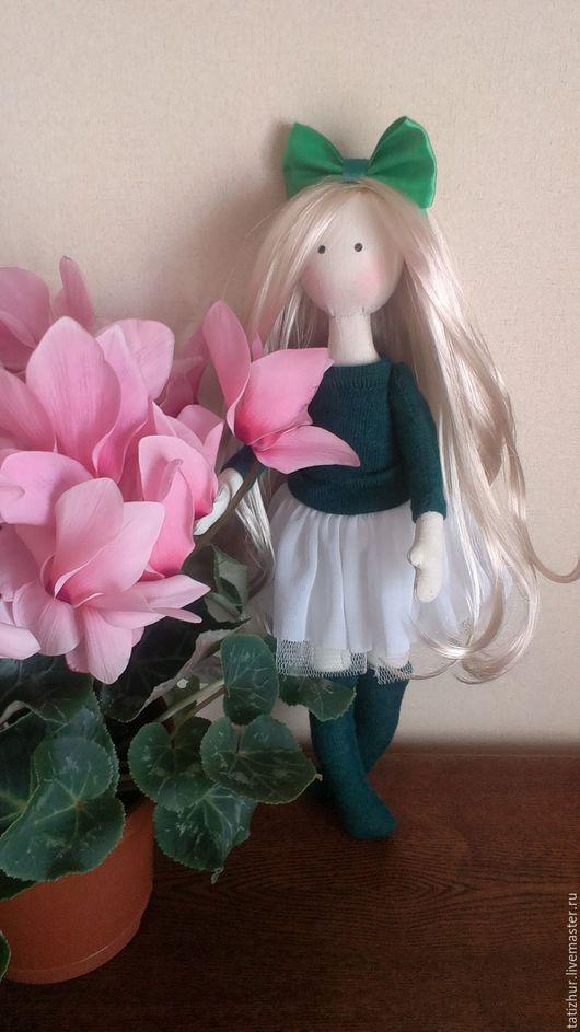 Коллекционные куклы ручной работы. Ярмарка Мастеров - ручная работа. Купить Кукла Алина. Handmade. Текстильная кукла, для девочки