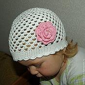 """Работы для детей, ручной работы. Ярмарка Мастеров - ручная работа Шапочка для девочки """"Цветок"""". Handmade."""