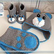 Работы для детей, ручной работы. Ярмарка Мастеров - ручная работа Комплект Мишка Тедди. Handmade.