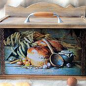 The bins handmade. Livemaster - original item bread