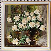 """Картины и панно ручной работы. Ярмарка Мастеров - ручная работа """"Розы для любимой""""-2. Handmade."""