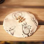 Для дома и интерьера ручной работы. Ярмарка Мастеров - ручная работа Грелка с вишневыми косточками. Handmade.