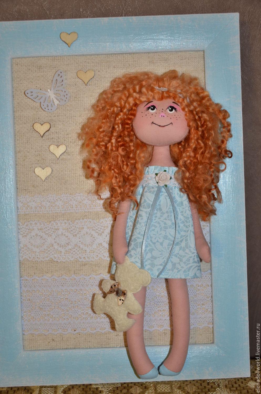 Панно с куклами на стену своими руками