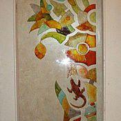 Дизайн и реклама ручной работы. Ярмарка Мастеров - ручная работа Роспись по стеклу. Handmade.