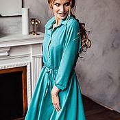 Одежда ручной работы. Ярмарка Мастеров - ручная работа Платье на пуговках. Handmade.