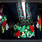"""Одежда ручной работы. Ярмарка Мастеров - ручная работа Платье """"Калина с желудями"""". Handmade."""