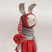 Куклы и игрушки ручной работы. Ярмарка Мастеров - ручная работа Рождественский кролик.. Handmade.