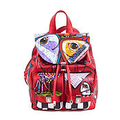 Сумки и аксессуары handmade. Livemaster - original item Women`s backpack