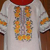 Одежда handmade. Livemaster - original item Women`s embroidery-ZhR3-49. Handmade.