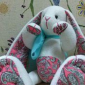 Куклы и игрушки ручной работы. Ярмарка Мастеров - ручная работа Зая по имени Тошка. Handmade.