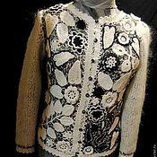 Одежда ручной работы. Ярмарка Мастеров - ручная работа Жакет из мохера. Handmade.