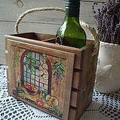 """Для дома и интерьера ручной работы. Ярмарка Мастеров - ручная работа короб для кухни """"Хозяюшка"""". Handmade."""